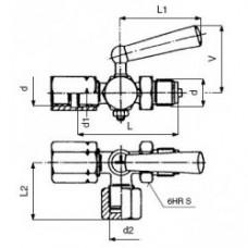 kohout zkušební M20x1,5