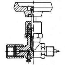 ventil uzavírací mosaz